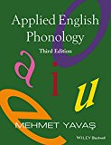 Applied English Phonology:   2016 9781118944523 Front Cover