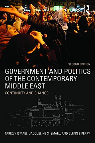 Government and Politics of the Contemporary Middle East Continuity and Change 2nd 2016 (Revised) 9781138786523 Front Cover