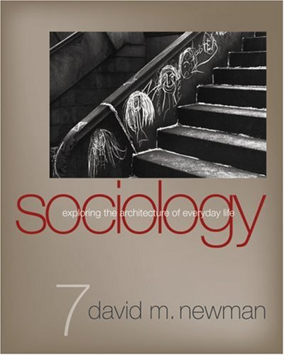 Sociology Exploring the Architecture of Everyday Life 7th 2008 edition cover
