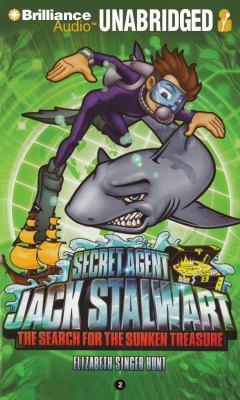 Secret Agent Jack Stalwart: The Search for the Sunken Treasure: Australia  2011 edition cover