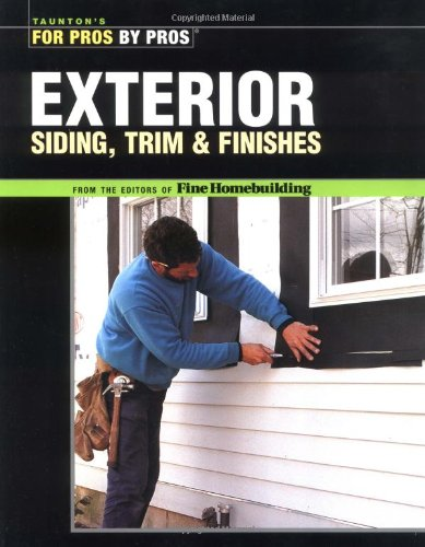 Exterior Siding, Trim and Finishes   2004 edition cover