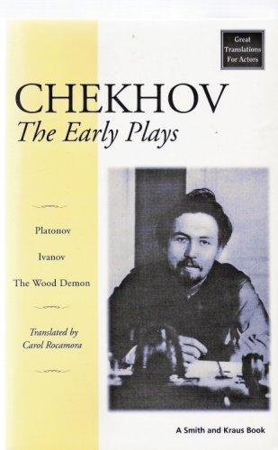 Chekhov's Early Plays Ivanov, Platanov, the Wood Demon  1999 edition cover