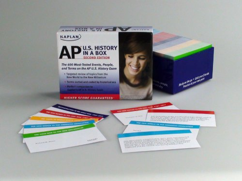 Kaplan AP U. S. History in a Box  2nd edition cover