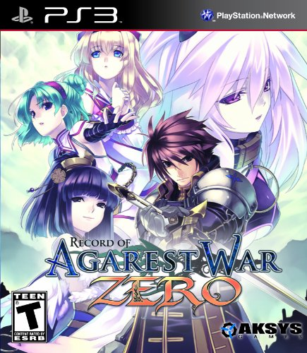 Record of Agarest War Zero - Standard Edition - Playstation 3 PlayStation 3 artwork