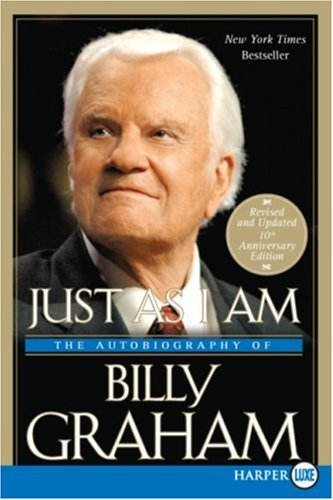 Just As I Am  Large Type 9780061259524 Front Cover