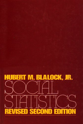 Social Statistics 2nd 1979 (Revised) edition cover