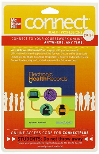 ELECTRONIC HEALTH RECORDS-CONNECT PLUS  N/A edition cover