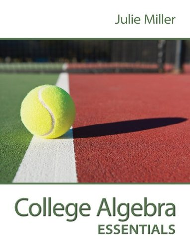 College Algebra Essentials W/ Connect Plus Hosted by ALEKS Access Card 52 Weeks   2014 edition cover