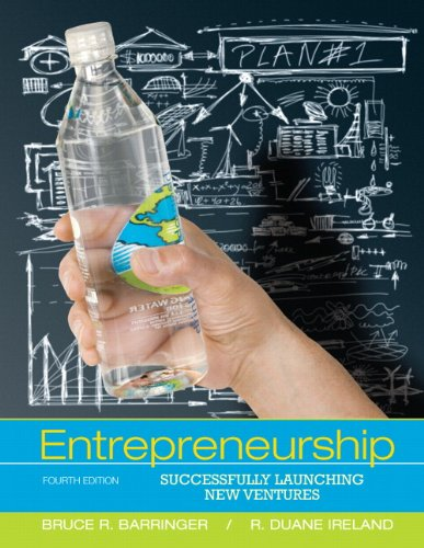 Entrepreneurship Successfully Launching New Ventures 4th 2012 (Revised) 9780132555524 Front Cover