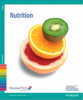 ManageFirst Nutrition with Online Testing Voucher 2nd 2013 (Revised) 9780132724524 Front Cover