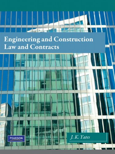 Engineering and Construction Law and Contracts   2011 edition cover