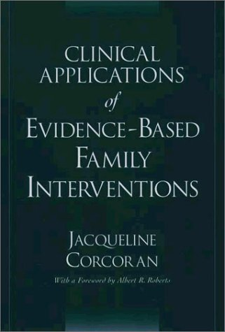 Clinical Applications of Evidence-Based Family Interventions   2003 edition cover