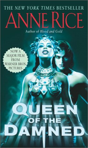 Queen of the Damned   1997 (Movie Tie-In) edition cover