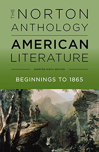 The Norton Anthology of American Literature:   2017 9780393264524 Front Cover