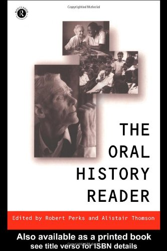 Oral History Reader   1997 edition cover