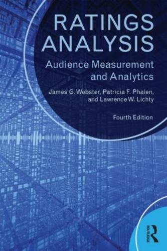 Ratings Analysis Audience Measurement and Analytics 4th 2014 (Revised) 9780415526524 Front Cover