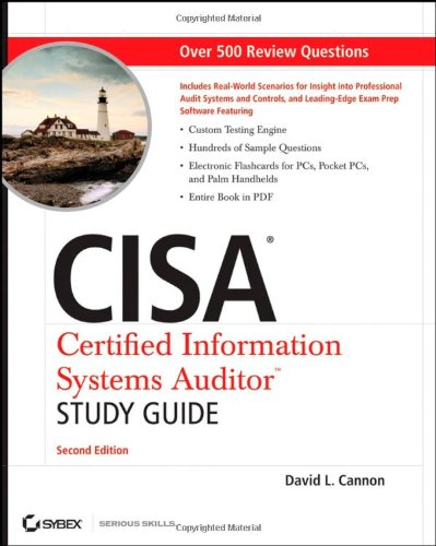 CISA Certified Information Systems Auditor Study Guide  2nd 2008 edition cover