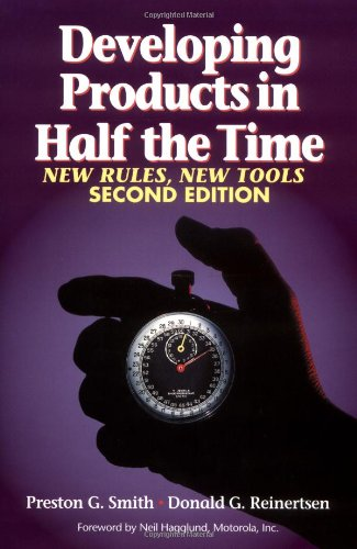 Developing Products in Half the Time New Rules, New Tools 2nd 1997 (Revised) edition cover