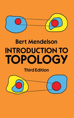 Introduction to Topology  3rd 1990 (Revised) edition cover