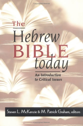Hebrew Bible Today An Introduction to Critical Issues  1998 edition cover