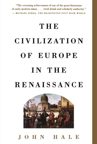 Civilization of Europe in the Renaissance   1995 (Reprint) edition cover
