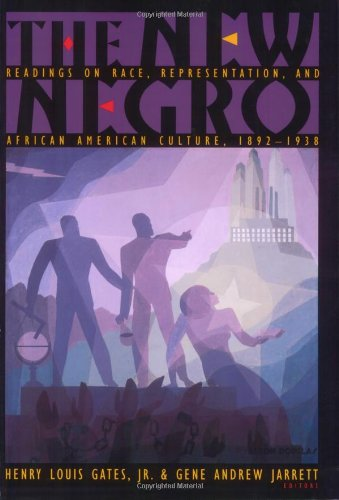 New Negro Readings on Race, Representation, and African American Culture, 1892-1938  2008 edition cover