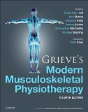 Grieve's Modern Musculoskeletal Physiotherapy Vertebral Column and Peripheral Joints 4th 2015 edition cover