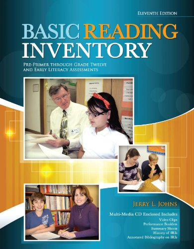 Basic Reading Inventory Pre-Primer Through Grade Twelve and Early Literacy Assessments 11th (Revised) edition cover