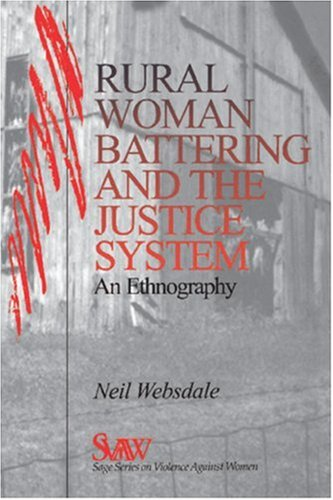 Rural Women Battering and the Justice System An Ethnography  1997 edition cover