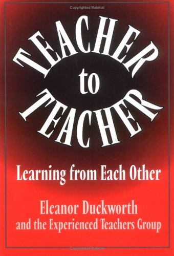 Teacher to Teacher The Learning from Each Other  1997 edition cover