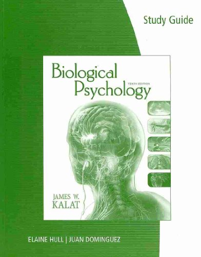 Biological Psychology Study Guide N/A edition cover