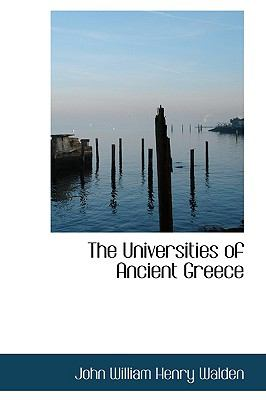 The Universities of Ancient Greece:   2009 edition cover