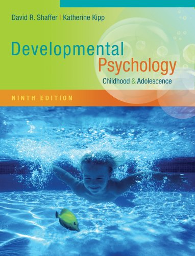 Developmental Psychology Childhood and Adolescence 9th 2014 edition cover