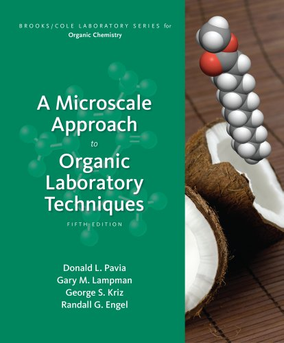 Microscale Approach to Organic Laboratory Techniques  5th 2013 edition cover