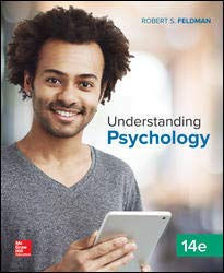 UNDERSTANDING PSYCHOLOGY                N/A 9781260194524 Front Cover