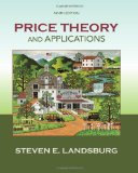 Price Theory and Applications:   2013 edition cover