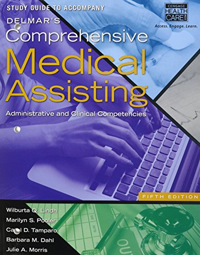 Delmar's Comprehensive Medical Assisting Administrative and Clinical Competencies 5th edition cover