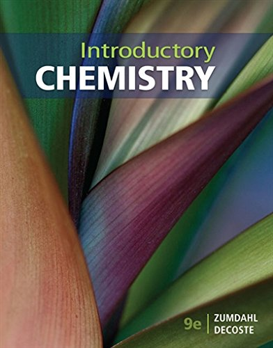 Introductory Chemistry: 9th 2018 9781337399524 Front Cover