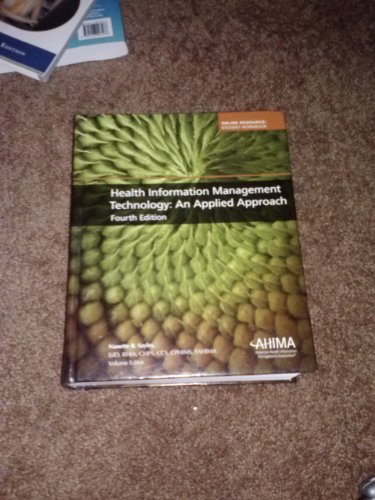 Health Information Management Technology: An Applied Approach 4th edition cover