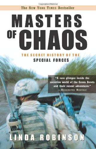 Masters of Chaos The Secret History of the Special Forces  2005 edition cover