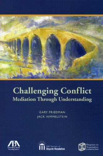 Challenging Conflict Mediation Through Understanding  2008 edition cover