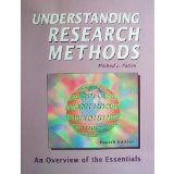 Understanding Research Methods-4th Ed An Overview of the Essentials 4th 2004 edition cover