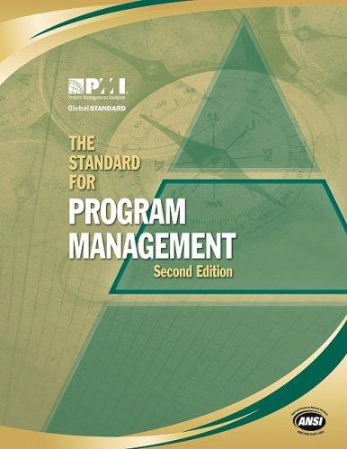 Standard for Program Management  2nd 2008 9781933890524 Front Cover