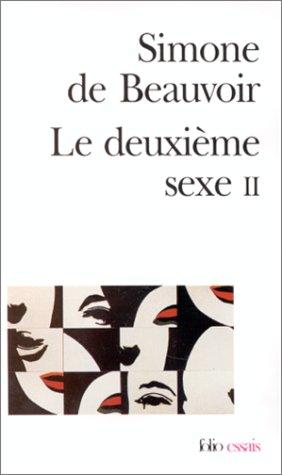 Deuxieme Sexe 1st 2004 9782070323524 Front Cover