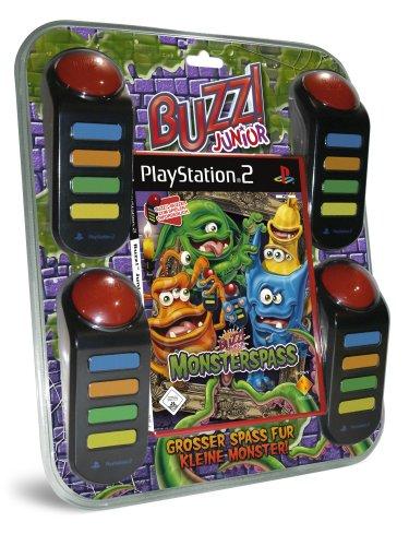 BUZZ! Junior: Monsterspaß inkl. 4 Buzzer PlayStation2 artwork