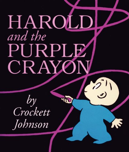 Harold and the Purple Crayon Board Book  60th 2015 9780062086525 Front Cover