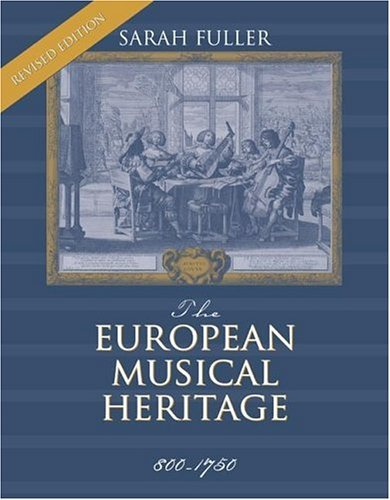 European Musical Heritage 800-1750 2nd 2005 (Revised) edition cover