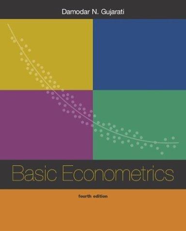 Basic Econometrics  4th 2003 (Revised) edition cover