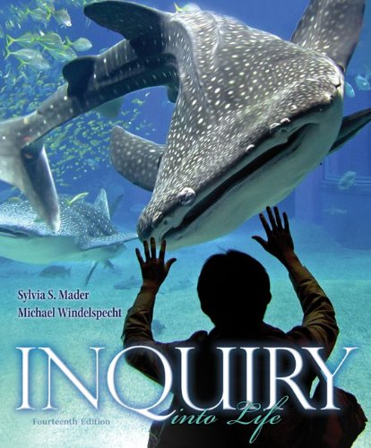 Inquiry into Life  14th 2014 9780073525525 Front Cover