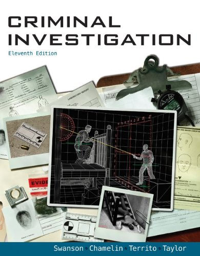 Criminal Investigation  11th 2012 edition cover
